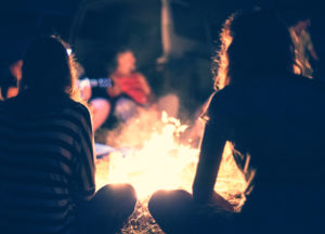 stories around a campfire