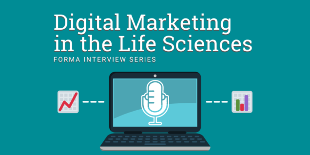digital marketing in the life sciences banner image